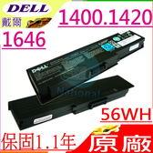 DELL電池(原廠)-戴爾電池 INSPIRON 1400,1420,1646電池,MN151 WW116,PR693,FT080,MN154,FT095,312-0580