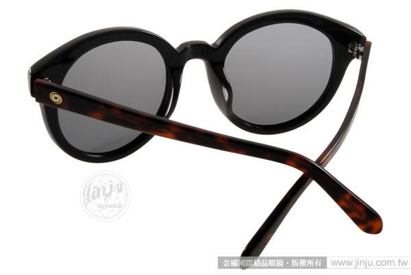 Go-Getter 太陽眼鏡 GS1015 BKDE (琥珀-黑) 俏皮時尚熱銷半圓框款 # 金橘眼鏡