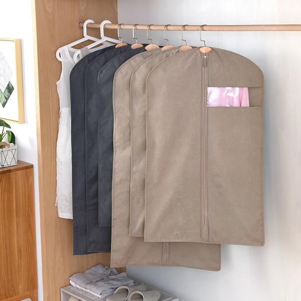 防塵罩仿麻牛津布家用防塵袋衣罩掛式衣服套防塵防潮加厚衣服袋子
