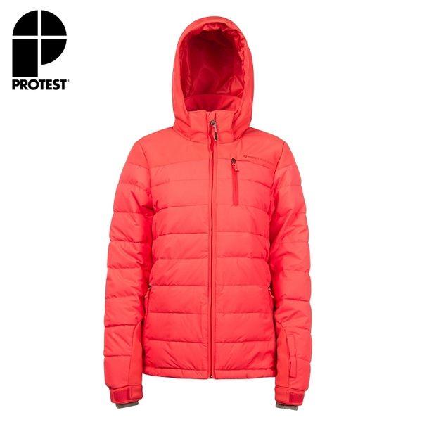 PROTEST 女 防水保暖外套 (粉紅櫻桃) NOCTON 16 SNOWJACKET