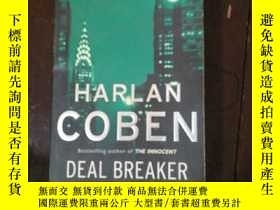 二手書博民逛書店英文原版罕見HARLAN COBEN DEAL BREAKERY