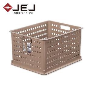 日本JEJ AS BASKET 自由組合整理籃/#3棕色 2入