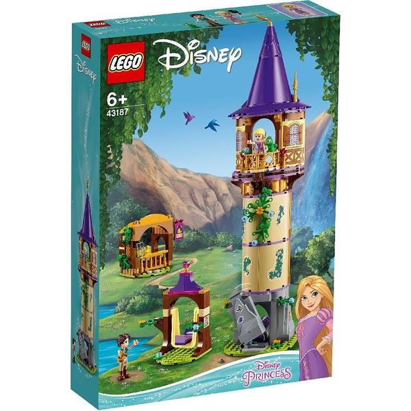 樂高積木 LEGO《 LT43187 》迪士尼公主系列 - 樂佩公主的高塔 / JOYBUS玩具百貨