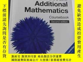 二手書博民逛書店Cambridge罕見Igcse(r) and O Level Additional Mathematics Co