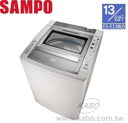 【佳麗寶】-留言再享折扣(SAMPO聲寶)13公斤好取式定頻洗衣機 ES-E13B(J)
