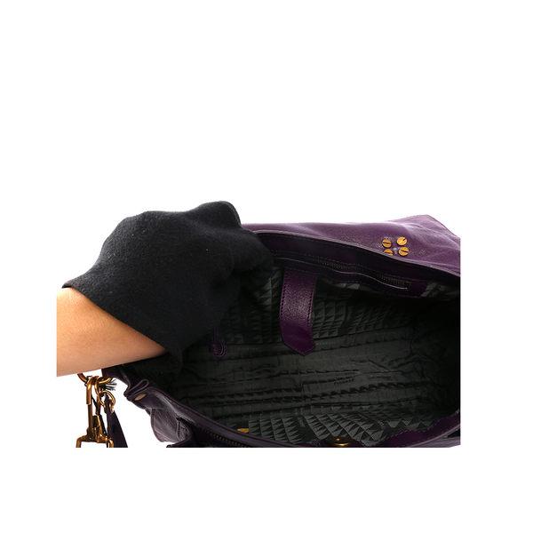 【PROENZA SCHOULER】 中型 PS1 斜背/手提 兩用包_展示品 (葡萄紫)