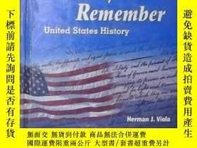 二手書博民逛書店英文原版罕見Why We Remember by Herman