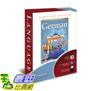 [106美國直購] 2017美國暢銷軟體 Complete Edition German Language Tutor Software Audio Learning CDROM