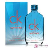 (即期良品) Calvin Klein CK One summer中性淡香2017限量版(100ml)-期效201909【美麗購】
