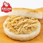 【KK Life-紅龍】紅蔥雞絲米漢堡 (170g/顆; 3顆/袋)