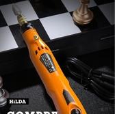 打磨機 充電電磨機小型手持雕刻機電動根雕打磨工具拋光機微型迷你小電鉆 220v