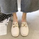 樂福鞋 軟妹小皮鞋女英倫風平底2021年春夏新款漆皮樂福鞋復古日繫jk單鞋