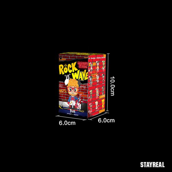 STAYREAL 鼠小小搖滾浪潮盲盒公仔 - 單裝(1隻)