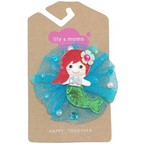 【美國 Lily & Momo】手工童趣髮飾- 美人魚公主 #HCA260