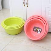 加厚塑料洗臉盆 家用大號洗菜盆學生兒童洗衣盆子成人洗腳盆 加深 東京衣櫃