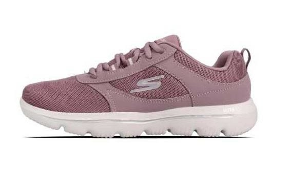 Skechers Evolution Enhance 女款慢跑 健走鞋 粉-NO.15734MVE