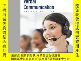 二手書博民逛書店Verbal罕見Communication: Illustrated Course Guides (with Co