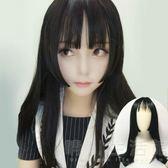 男女通用假髮黑長髮髮cos姬髮式長髮髮娘變裝萬用動漫cosplay假髮 晴川生活館