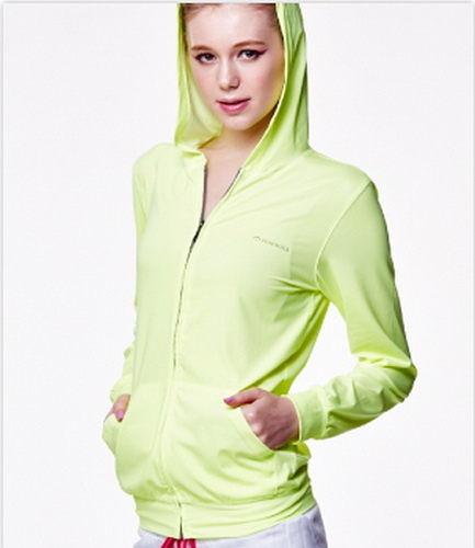 SUNSOUL/HOII/后益---新光感(防曬光能布)---連帽T恤UPF50+ 黃光 【有機樂活購】【M/L/XL】