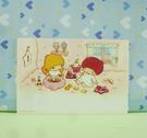 【震撼精品百貨】Little Twin Stars KiKi&LaLa 雙子星小天使~卡片組(3入)-吃飽喝足