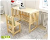 多功能嬰兒床實木免漆搖籃床兒童床搖搖床可變書桌帶護欄寶寶床YYJ  夢想生活家