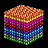 巴克球10000000顆磁力珠磁鐵球1000顆巴克豆100000顆益智玩具【快速出貨八折下殺】
