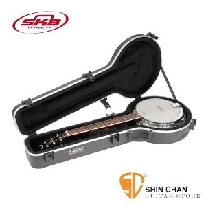 班鳩琴盒 ►六弦班鳩硬盒 SKB SKB-52 【SKB52/6-String Banjo case】