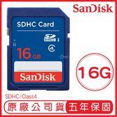SANDISK 16G SD C4 記憶卡 原廠公司貨 16GB SDHC