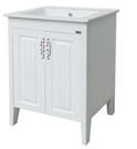 【麗室衛浴】國產精緻  PV1260 面盆置物櫃   寬60公分*深46公分*高82公分