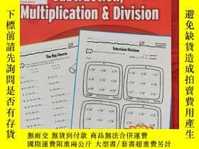 二手書博民逛書店Scholastic罕見Success with Addition, Subtraction, Multiplic