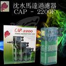 CAP 沉水過濾器 增加水中溶氧量 2200F (含濾杯)