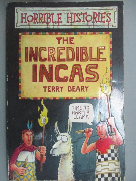 【書寶二手書T6/漫畫書_JLC】The Incredible Incas (Horrible Histories)_T