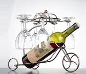 家用歐式優雅6只裝高腳杯香檳杯酒杯帶杯架  汪喵百貨