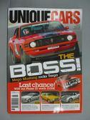 【書寶二手書T3/雜誌期刊_ZCK】UNIOUF CARS_312期_The Boss