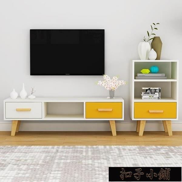 北歐電視櫃 現代客廳臥室小戶型電視櫃組合家具簡易電視機櫃 【全館免運】
