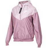 ★現貨在庫★ Nike Windrunner 女裝 外套 風衣 連帽 防風 拼接 粉 【運動世界】AR3093-515