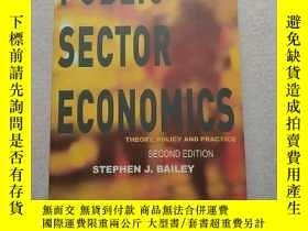 二手書博民逛書店(英文原版)Public罕見Sector Economics: