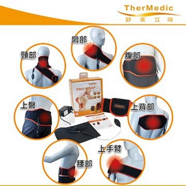 【南紡購物中心】舒美立得 簡便型熱敷護 具 軀幹專用(肩、腰、背)