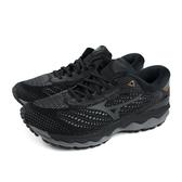 美津濃 Mizuno WAVE SKY 3 SW 慢跑鞋 運動鞋 黑色 男鞋 J1GC191161 no090