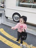 女童衛衣 秋裝新款男女寶寶百搭童裝兒童純棉韓版洋氣長袖上衣  嬌糖小屋