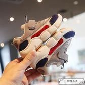 兒童鞋子男童機能鞋防滑春秋新款2019女童網鞋男寶寶1-5歲軟底鞋2
