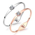 【5折超值價】時尚精美精緻鑲鑽特色造型款鈦鋼手環