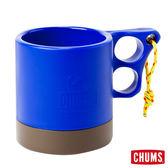 CHUMS 日本 露營野餐 保溫保冷馬克杯 藍/棕 ( 250ml) CH621048A033