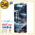【BUFF 西班牙 Coolnet 抗UV頭巾 輕礦藍鐵】119366/圍脖/帽子/口罩/圍巾/吸溼排汗