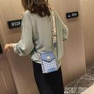 手機包 包包女2021新款韓版放手機包時尚斜背小方包法國小眾寬帶斜背包潮 夏季狂歡