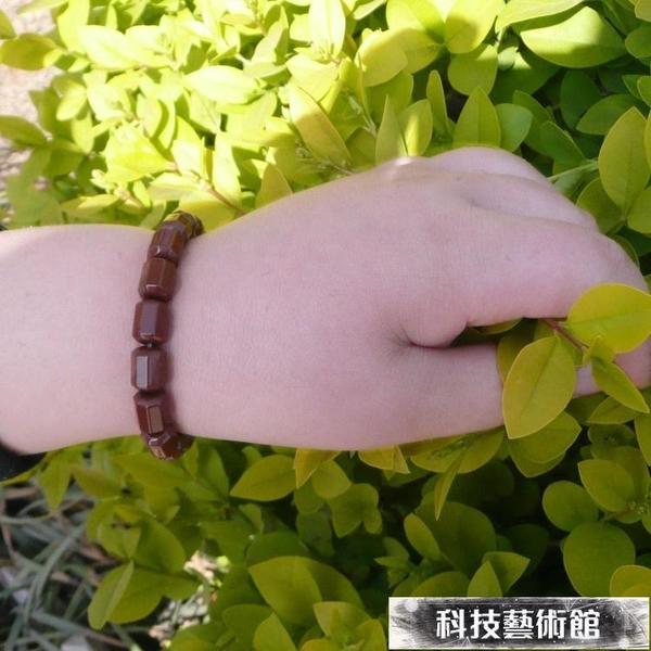 項鏈 韓國時尚托瑪琳鍺石電氣石男女創意手鏈項鏈 防輻射抗疲勞 交換禮物
