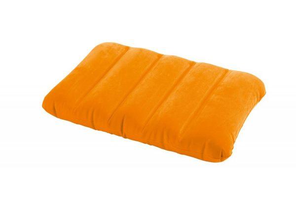 [衣林時尚] INTEX 充氣枕頭(橘)  充氣墊 靠墊 坐墊 43CM X 28CM X 9 CM 可清洗   68676