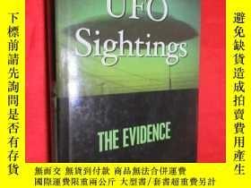 二手書博民逛書店UFO罕見Sightings: The Evidence (小1
