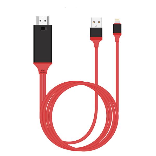 【現貨】即插即用 高清電視線 MHL HDMI線 蘋果 專用  數位影音 視頻轉接線 ipad iphone 7 8 X 11