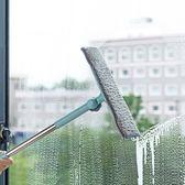 伸縮桿擦窗器擦玻璃清潔工具 洗擦窗戶刮玻璃器刷子玻璃擦igo      韓小姐
